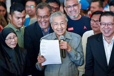 Malaysia's the 7th Prime Minister, Mahathir Mohamad