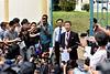 Ri Tong Il press conference