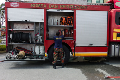Blaze at Employees Provident Fund (EPF) building in Malaysia