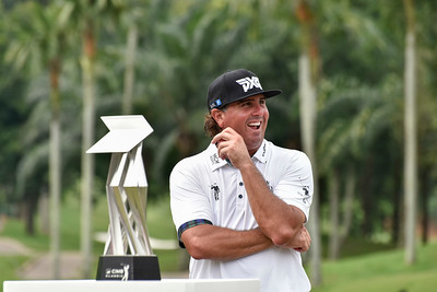 Pat Perez won the CIMB Classic 2017