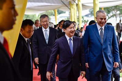 The Crown Prince Naruhito of Japan in Malaysia