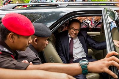 Anwar Ibrahim has been released from custody in Kuala Lumpur