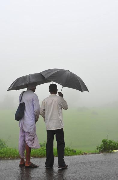 Mates in Mumbai Monsoon