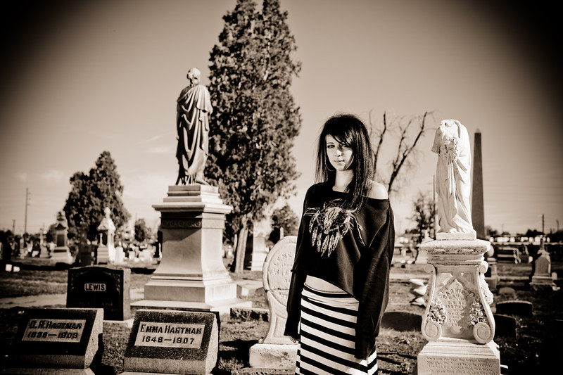 Haley, Cemetery Style<br /> Denver, CO