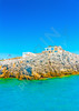 traditional fishing house at Pserimos pictorial island in Greece