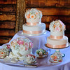 Gemma & Duncan's Wedding Cake<br /> Preston Court, England
