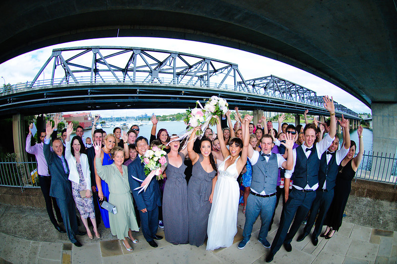 CHEERS!!!<br /> <br /> Linda & Dean's Wedding<br /> The Cove<br /> Sydney, Australia