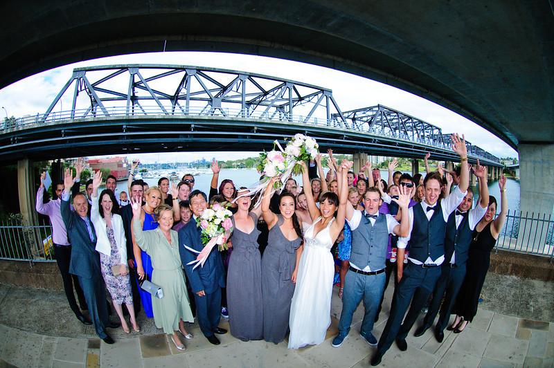 CHEERS!!!<br /> <br /> Linda & Dean's Wedding<br /> The Cove<br /> Sydney, Australia