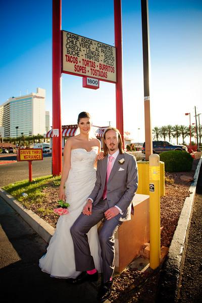 Mel & Richard tie the knot... Vegas Style!<br /> <br /> Las Vegas, Nevada