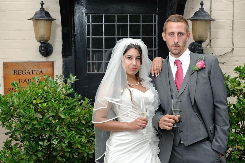 Julie & Tom<br /> Sonning-on-Thames, England