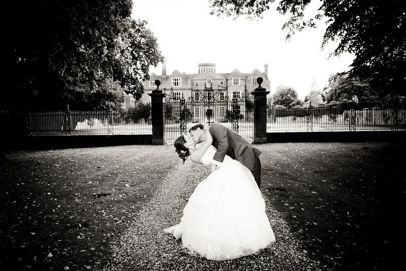 Aaran & Laura<br /> Knowlton Court, England
