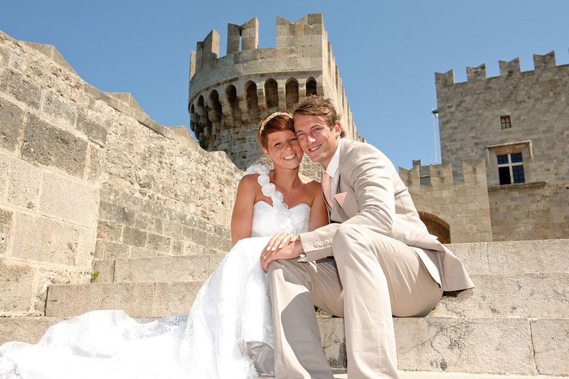 Gemma & Kevin<br /> Rhodes, Greece