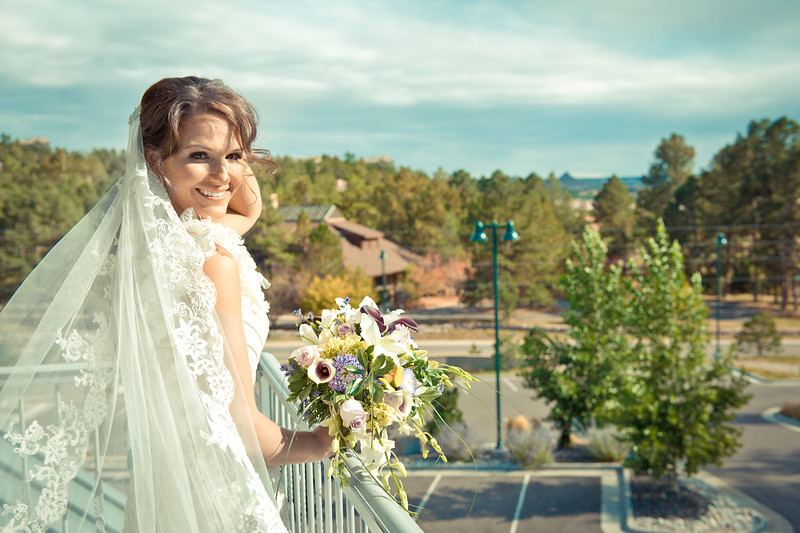 Jamie the bride<br /> Cielo at Castle Pines, Denver, Colorado