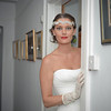 The gorgeous bride