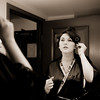 Michelle gets ready at Paris, Las Vegas Hotel <br /> Las Vegas, Nevada