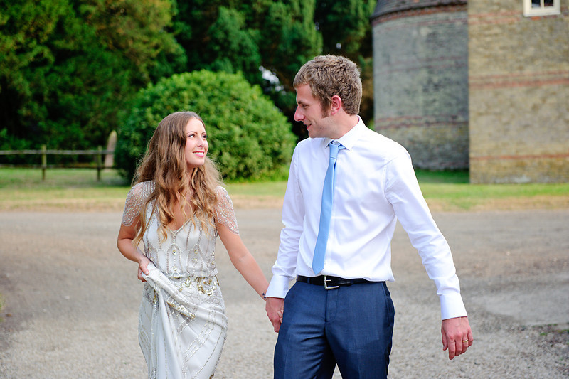 A stunning couple at a beautiful English wedding venue.<br /> <br /> Preston Court, Preston, England