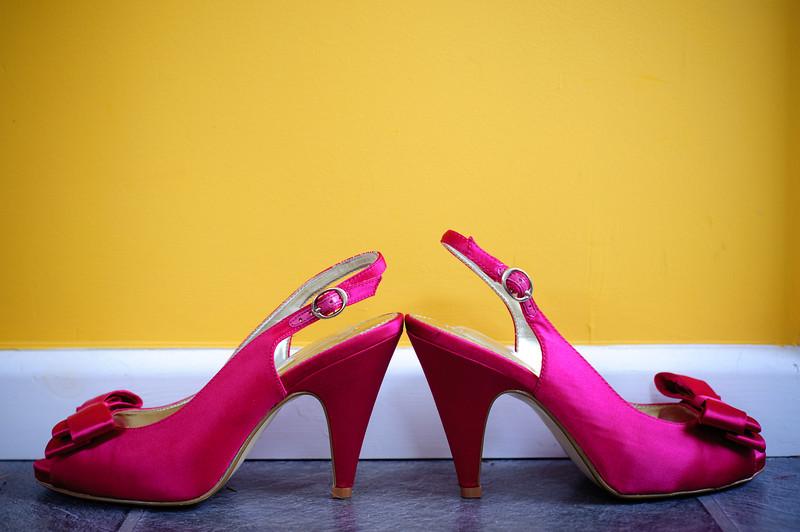 Bride's shoes<br /> Denver, Colorado & Destination Wedding & Event Photographers