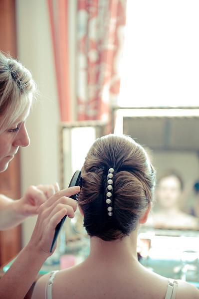 Vanessa's Stunning Hairdo