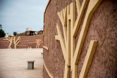 Le Monument de la Renaissance Africaine in Dakar, Senegal