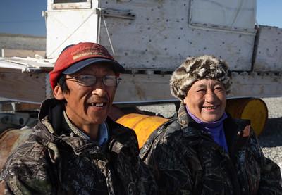 Arctic - Inuit couple