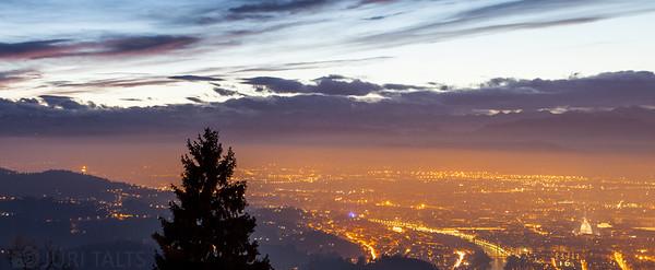 Evening in Turin