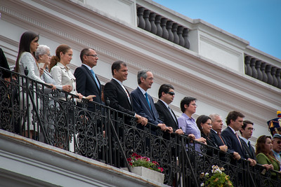 PRESIDENT CORREA AND FRIENDS