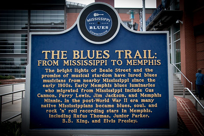 THE BLUES TRAIL SIGN