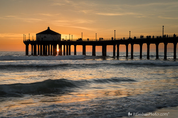 Manhattan Beach Sunset II