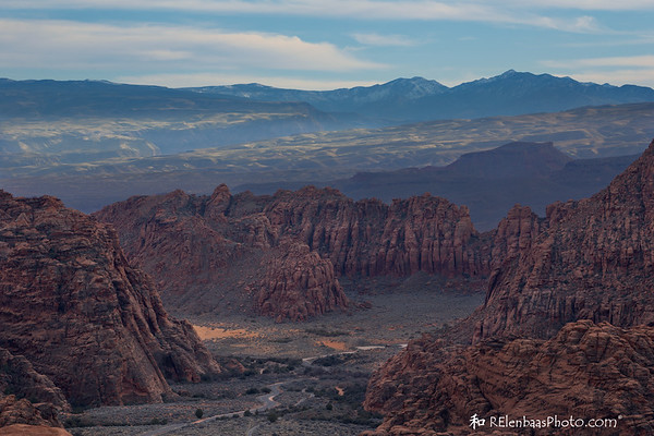 Snow Canyon Sunset I