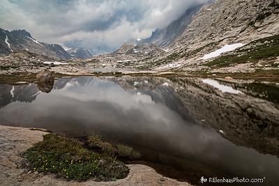 Titcomb Basin II:  Ponderous Clouds