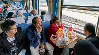 The Qinghai–Tibet Railway or Qingzang Railway