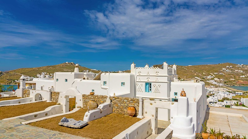 ORNOS BLUE, Guest Houses, Mykonos island, Greece