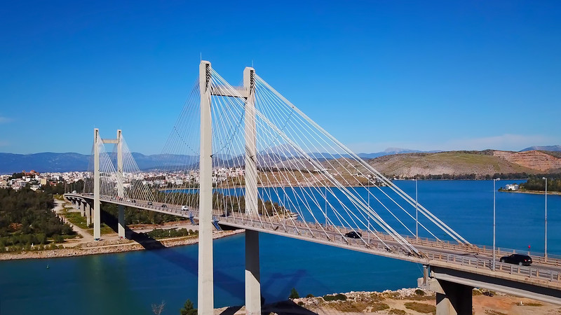 THE NEW HIGH BRIDGE, Chalkida, Evia island, Greece