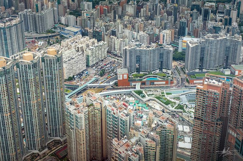 Hong Kong vue du Sky100