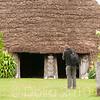 Grande case traditionnelle à Nathalo, construite il y a plus d'un siècle