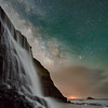 Star Fall  over Alamere Falls