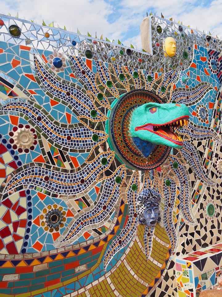 Mosaic Wall by Anado in San Miguel de Allende, GTO