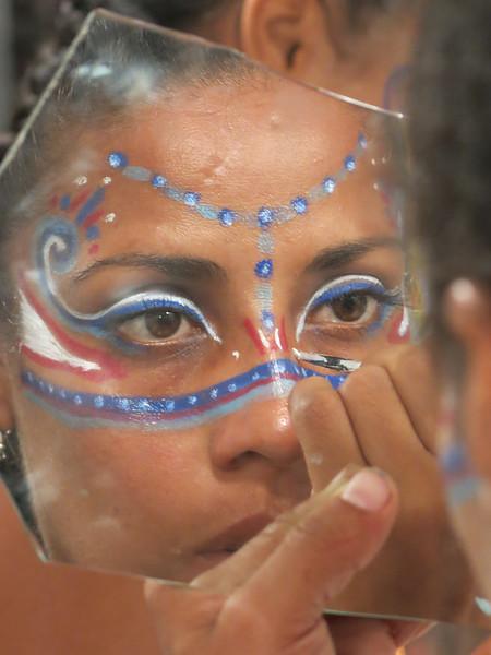 Mazazihuatl Preparing for La Danza, Puerto Vallarta, JAL