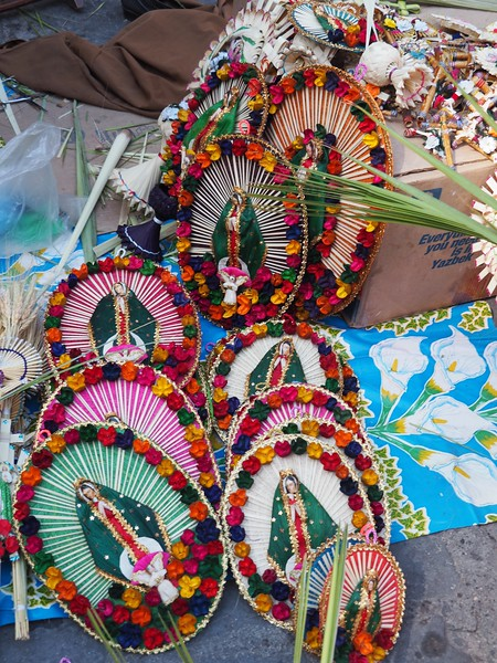 Palm Sunday Decorations, Puerto Vallarta, JAL