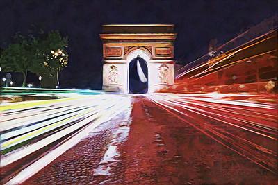 ARC DE TRAFIC - Paris, France