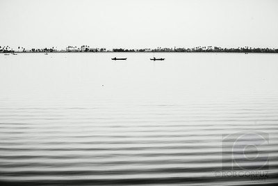 BACKWATER BOATS - Allepey, India