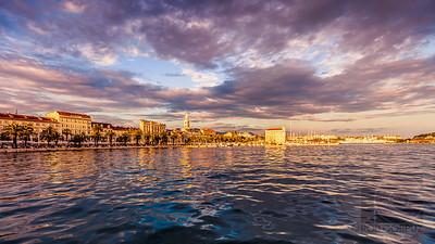 SUNSET IN SPLIT - Split, Croatia