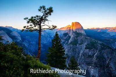 Half Dome from Glacier Point, Yosemite...