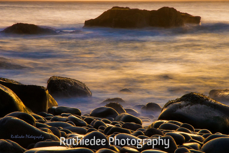 Dreamy morning on the coast of Maine...
