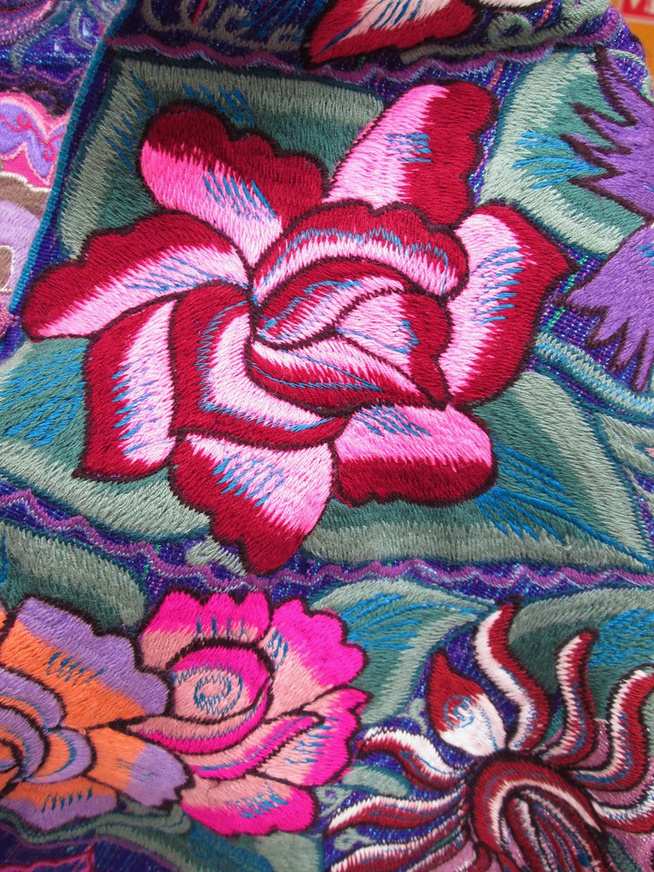 Embroidery in Oaxaca