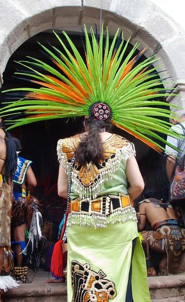 Ceremony to Honor El Señor de Chalma,  May 2012