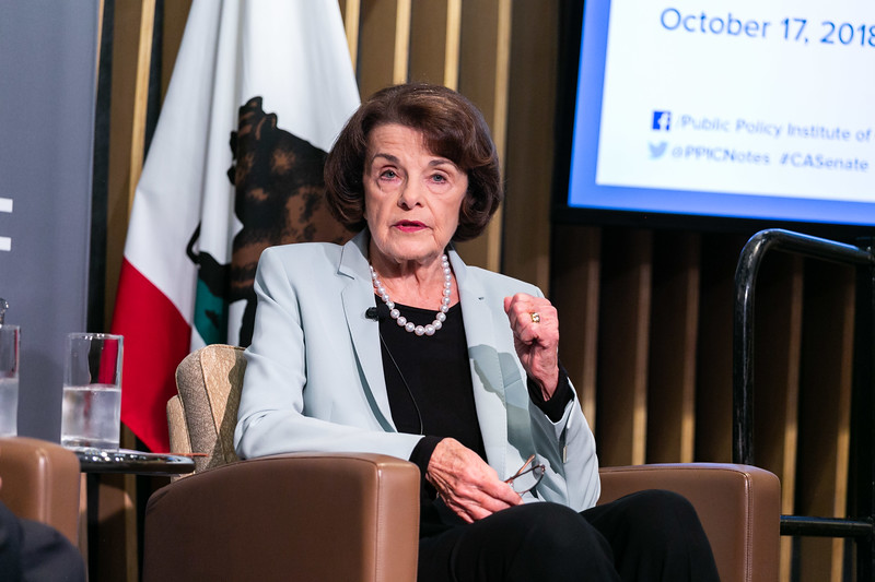 Senator Dianne Feinstein of California