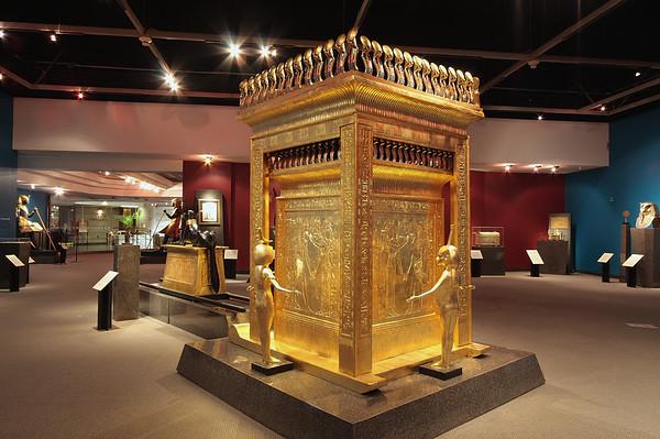King Tut exhibit @ CHWMAAH