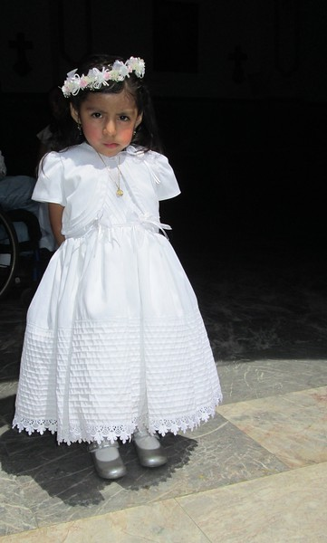 Little Girl Dressed for Communion, Puerto Vallarta