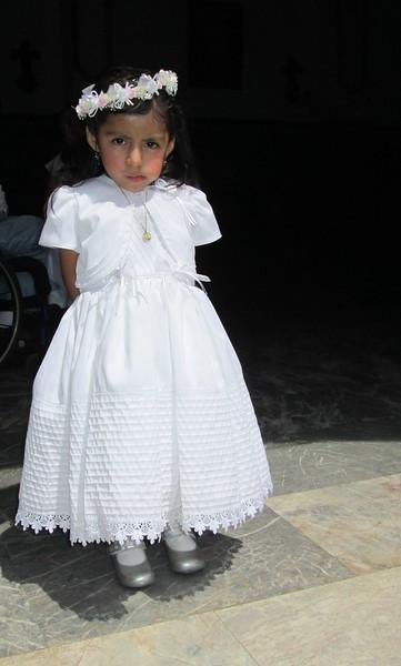 Little Girl Dressed for Communion, Puerto Vallarta
